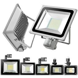 PIR Motion Sensor Outdoor LED Flood Lights 100W 50W 30W 20W