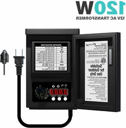 Malibu 120 Watt Power Pack with Sensor and Weather Shield fo