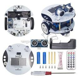 Qbot Programmable Smart Robot Car Kit & Ultrasonic Light Sen