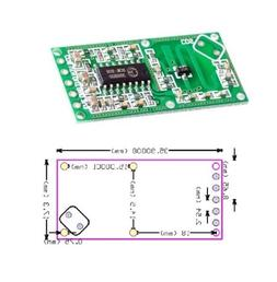 RCWL-0516 Microwave Radar Sensor Module Human Body Induction