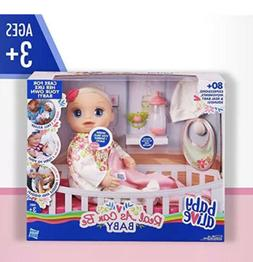 Baby Alive Real As Can Be Baby: Realistic Brunette Baby Doll