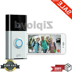 Ring Video Doorbell Wi-Fi Enabled Smart Phone HD Security Ca