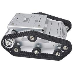 robot car chassis smart tank platform metal
