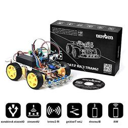 OSOYOO Robot Smart Car for Arduino DIY Learning Kit with Tut