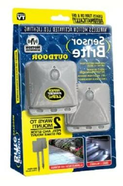 Sensor Brite Outdoor - Motion Sensor LED Flood Light, 2 Pack