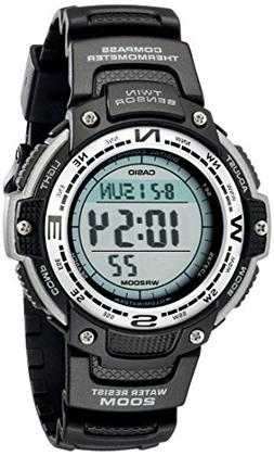 Casio Men's SGW100-1V Twin Sensor Digital Black Watch