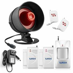 Siren Alarm For Indoor House Apartment RV Home Security Moti