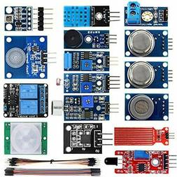 KOOKYE Smart Home Sensor Modules 16 in 1 Kit for Arduino Ras