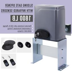 Smart Sliding 380W Gate Opener with Remote Control Infrared