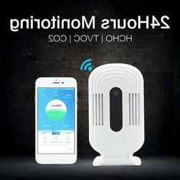 Smart WiFi Dioxide Meter CO2 HCHO Monitor Indoor Air Quality
