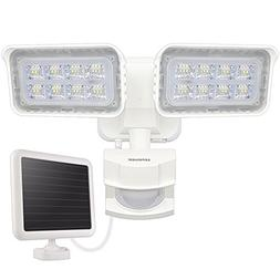 LEPOWER 1500LM Solar Lights Outdoor, LED Motion Sensor Secur