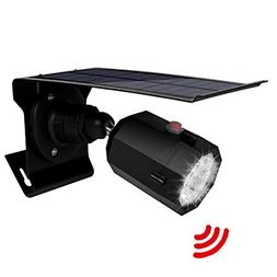 Solar Motion Sensor Light Outdoor 500Lumens 10 LED Spotlight