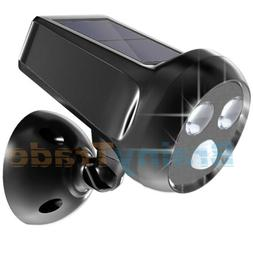 Solar Powered Motion Sensor Light Outdoor Security Lighting