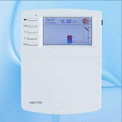 SR1568 Solar Water Heating System Controller with 7sensors,