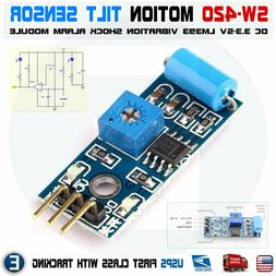 SW 420 Motion Tilt Sensor Vibration Switch Alarm Module for