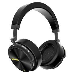Bluedio T5S Bluetooth Headphones Over Ear with Mic, Active N