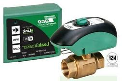 Taco LBW-075-H-1LF Water Heater Shut-Off Valve with WiFi, Co