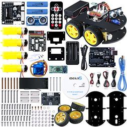 ELEGOO UNO Project Smart Robot Car Kit V 3.0 with UNO R3, Li