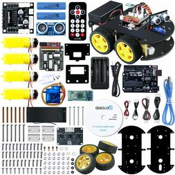 Elegoo Uno Project Smart Robot Car Kit V1 , Sensor, Remote C
