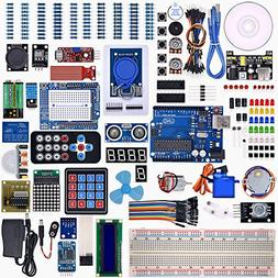 Weikedz UNO R3 Project Complete Starter Kit with Lesson CD ,