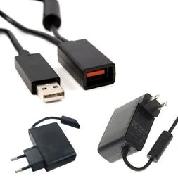 USB AC Power Supply Adapter Cable for Xbox 360 XBOX360 Kinec