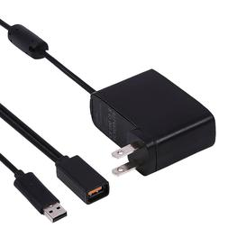 HDE USB AC Power Supply Cable Adapter for XBOX 360 Kinect Mo