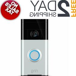 video doorbell wireless wi fi security sensor