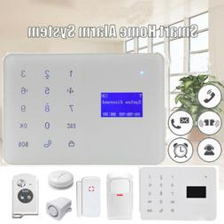 Wired Home Security Touch Screen GSM PIR/Alarm Sensor Burgla