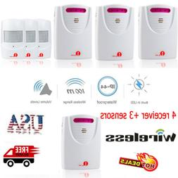 1byone Wireless Alarm Motion Sensor System Door Chime Drivew