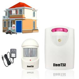 WIRELESS DRIVEWAY ALARM Motion Sensor Home Security Detect A