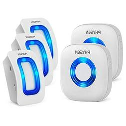 Physen Wireless Home Security Driveway Alarm,Motion Sensor D