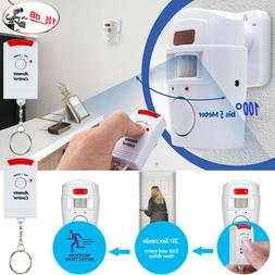 Wireless Motion Sensor Alarm Security Detector Indoor Outdoo