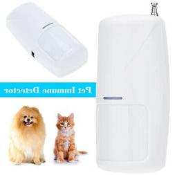 Wireless Pet Friendly Motion Sensor for Home Security Alarm