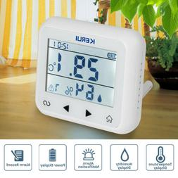 Wireless Temperature Humidity Detector Sensor For Home Secur