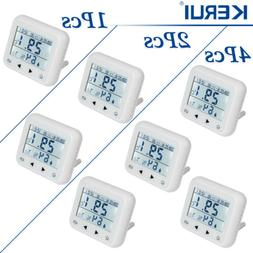 Wireless Temperature Humidity Detector Sensor Lot For Home S