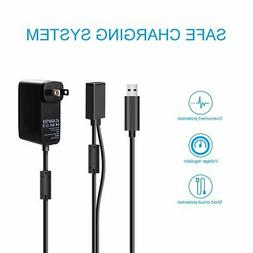 Xbox 360 Kinect Sensor USB A/C AC Power Supply Adapter Cable
